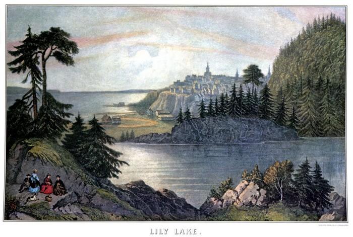 Картины-литографии были популярны в начале XX века.