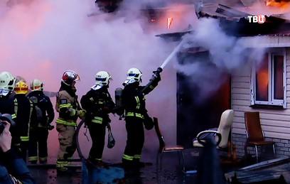 В Москве ищут поджигателя храма и воскресной школы