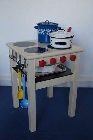 Детская кухня из стульчика. Такая задумка деткам точно понравится!