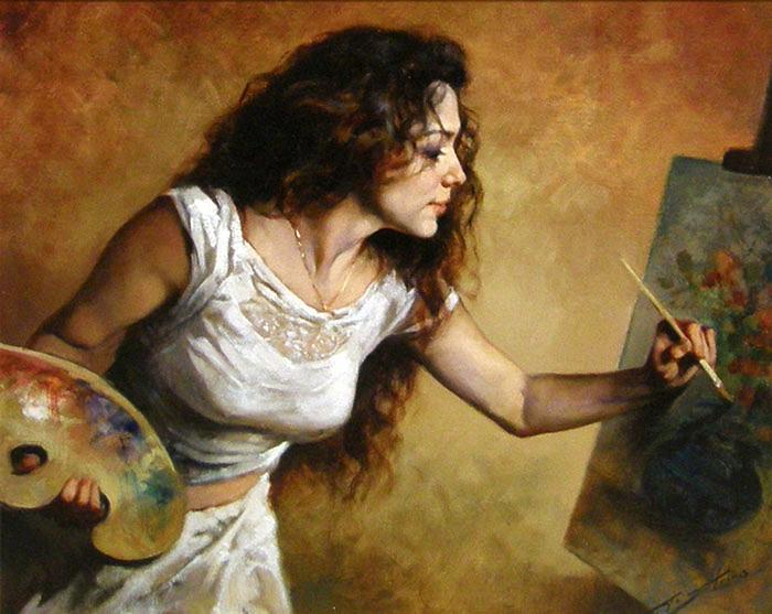 Художники рисующие женщин