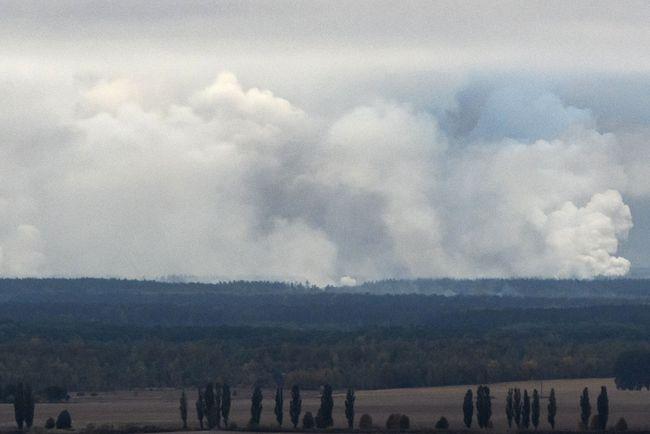 На Украине из-за пожара на арсенале уволили замначальника Генштаба ВСУ