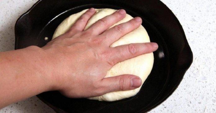 Пицца без замешивания теста.…