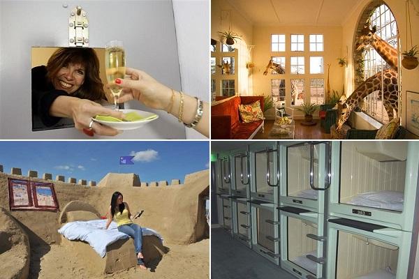 Самые необычные отели для креативных туристов