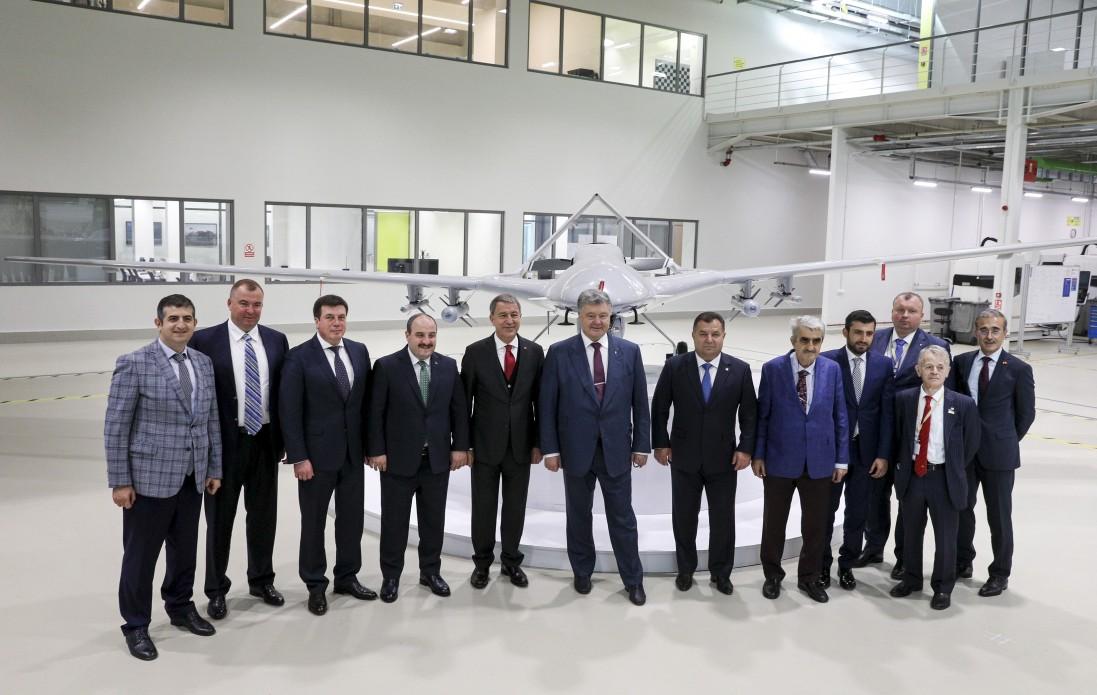 Украина приобрела шесть турецких разведывательно-ударных БЛА Bayraktar TB2 и вооружение к ним