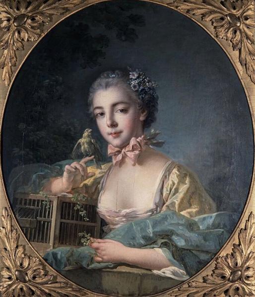 Портрет Франсуа Буше кисти Густафа Лундберга