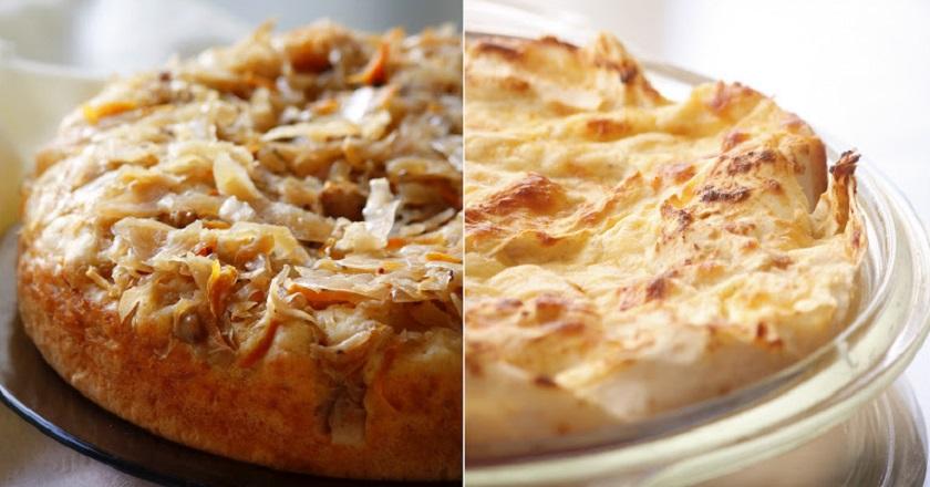 Такие разные капустные пирог…
