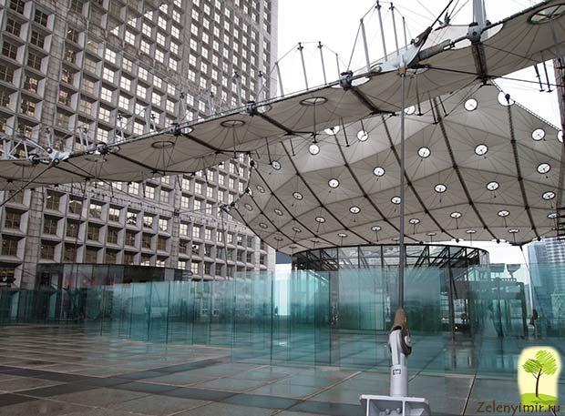 Большая арка Дефанс в Париже – современный вариант Триумфальной арки - 11