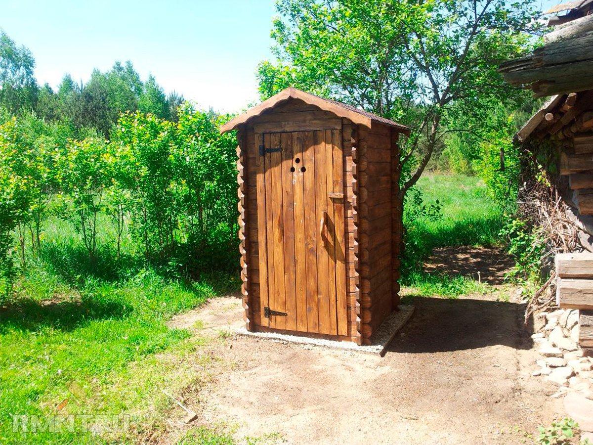 Из кирпича как построить туалет на даче своими руками
