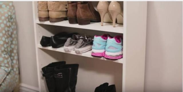 У Вас слишком много обуви? Вам нужно знать эти умные хаки для ее хранения