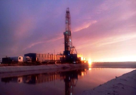 На Романовском нефтяном мест…