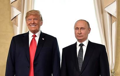 """""""Хорошо поговорили"""": Путин и Трамп подвели итоги переговоров"""