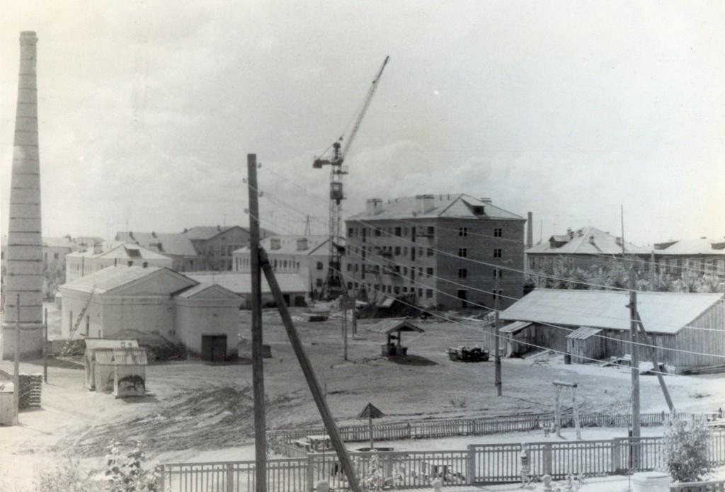 1955-1958гг.Застройка центра города - 35 квартал