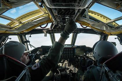 Перехваченный Су-27 вблизи К…