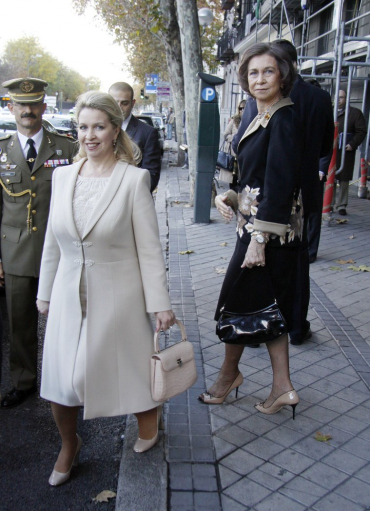 Queen Sofia and Svetlana Medvedeva Sighting In Madrid - December 5, 2011