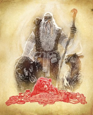 Родные Боги: картины Максима Кулешова