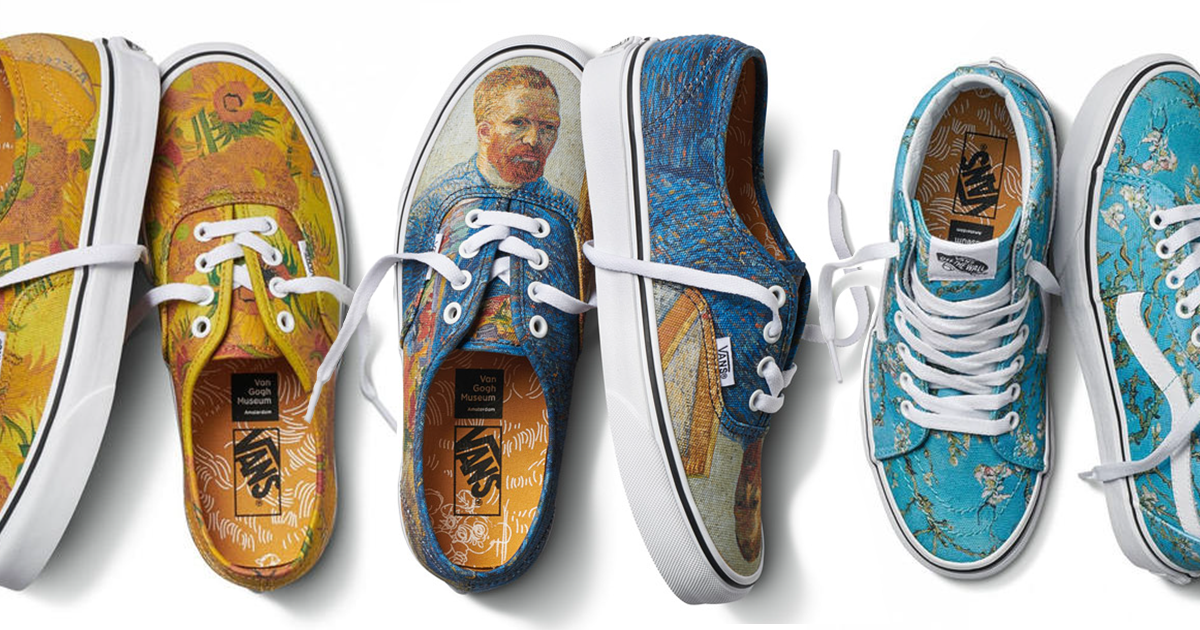 Vans Releases A Fashion Line Inspired By Van Gogh