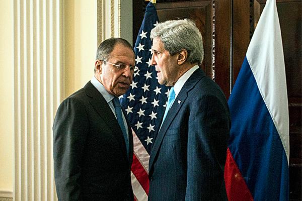 Россия и США впервые вместе …
