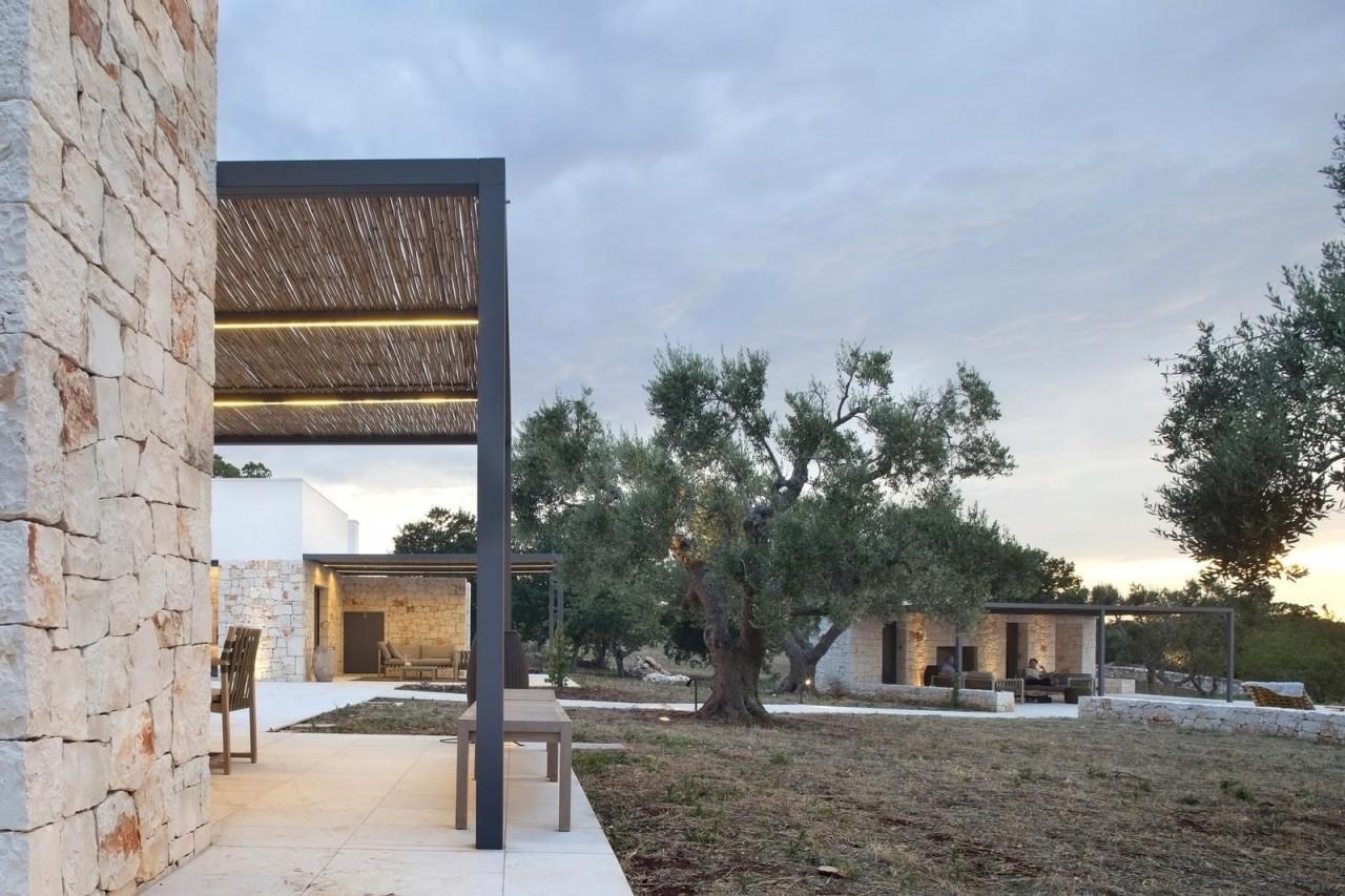 Дизайн современного умного дома на юге Италии