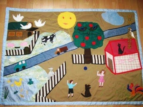 Развивающий коврик для детей.   Developing rug for children.