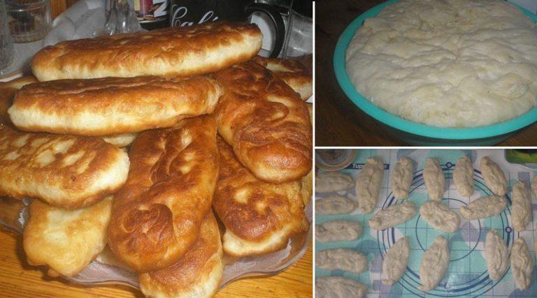 Быстрое тесто на пирожки — 15 минут, и готово!