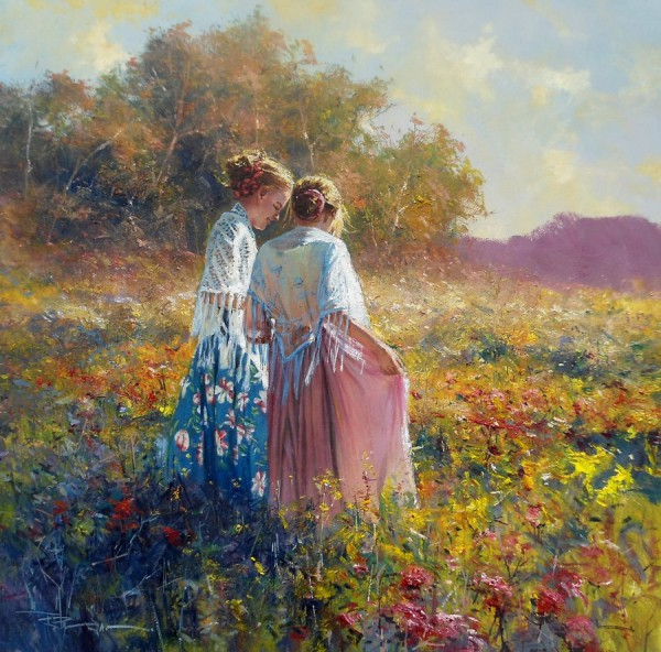 женщина и море Robert Hagan - 08