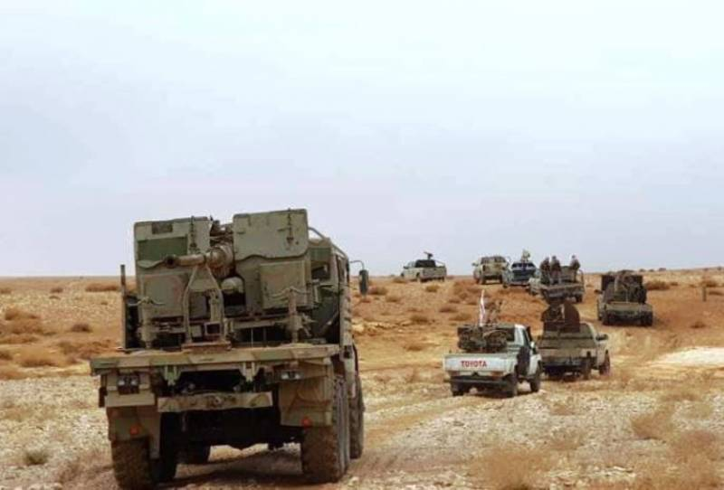 КамАЗ с 57-мм пушкой продолжает истреблять террористов в Сирии