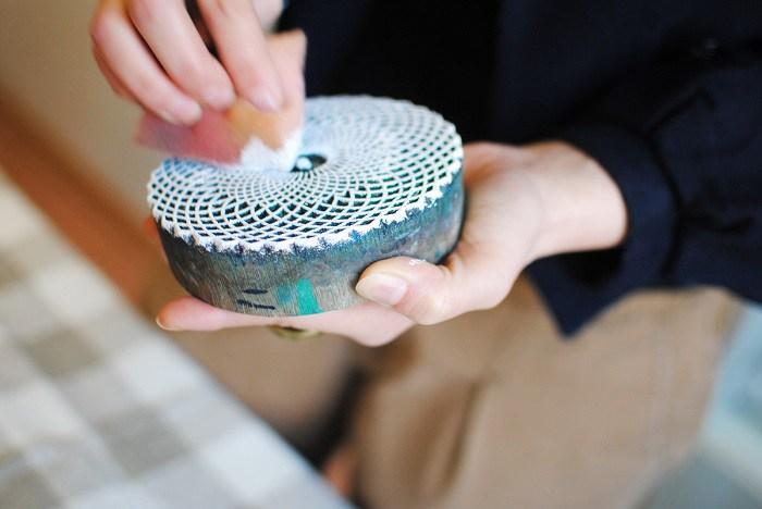 набойка на ткани технология