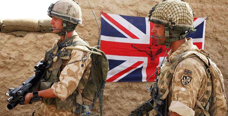 Британские военнослужащие были уничтожены в Восточной Гуте, оставшиеся в живых взяты в плен