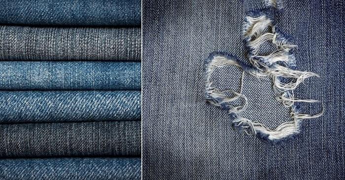 Старые и немодные джинсы бол…