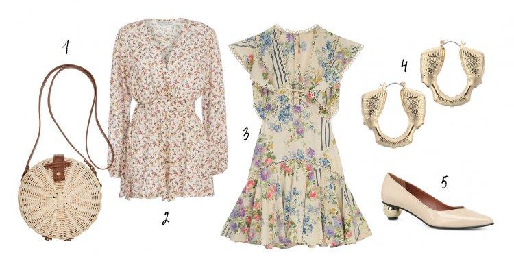 «Чайное платье» — как его правильно носить и с чем сочетать