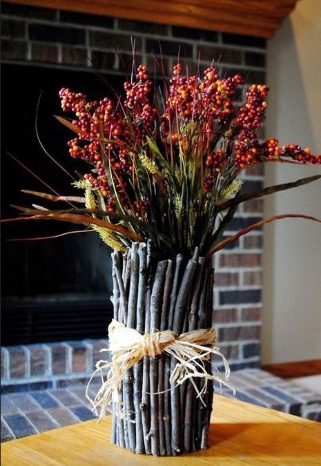 Осенняя ваза и другое... (подборка)
