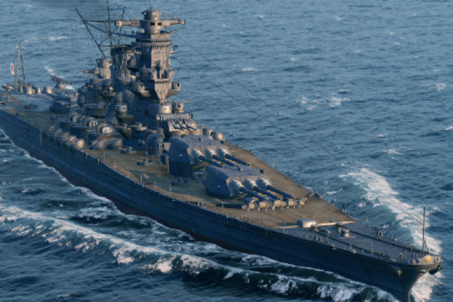 Мега-корабли Японской империи