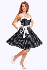 Элегантность и кокетство – в моде креативные платья-стиляги