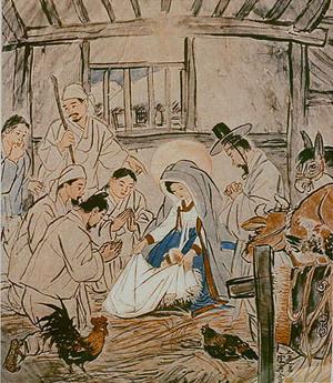 Христианство в Японии: иконы и картины