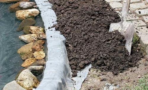 Для дренажа вместо грунта целесообразнее пользоваться щебнем или гравием