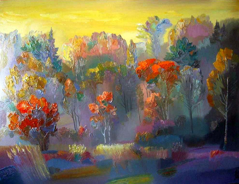 Из тумана песню мне пропела осень...великолепие осени в пейзажах разных художников