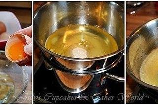Шёлковый крем для торта «Меренга»