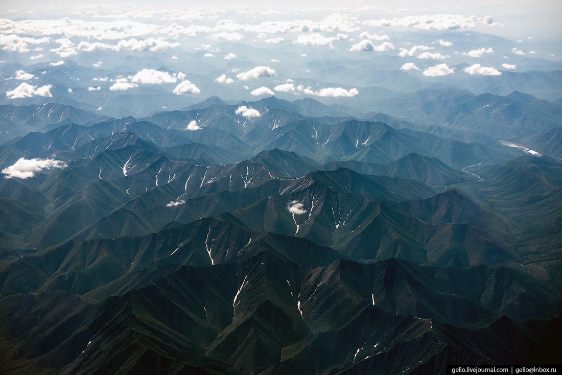 Красота неземная: фото, сделанные через окно самолёта. Часть 2