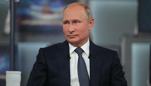Владимир Путин, фото © РИА Новости / Михаил Климентьев