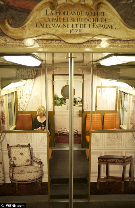 Paris commuter train 13 Версаль в электричке
