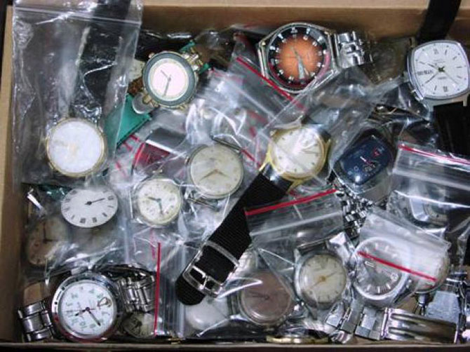 Что можно сделать из старых наручных часов