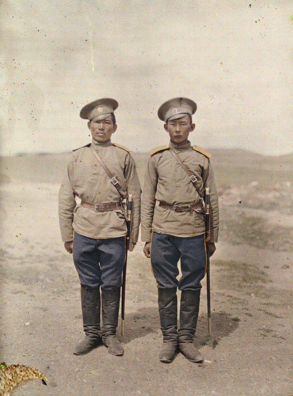 1913 год. Монголия в цветных…