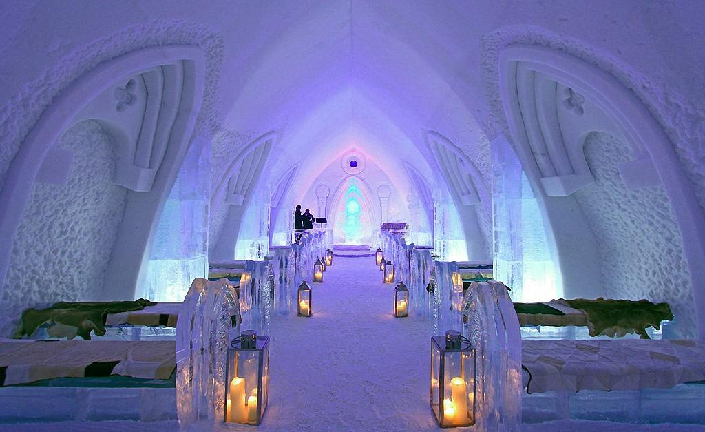 8 самых удивительных ледовых отелей мира-10