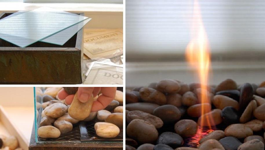 Тепло в вашем доме: соорудите биокамин из доступных материалов