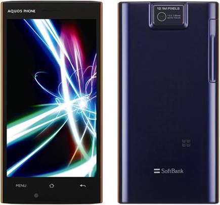 Мощный смартфон Sharp AQUOS 104SH