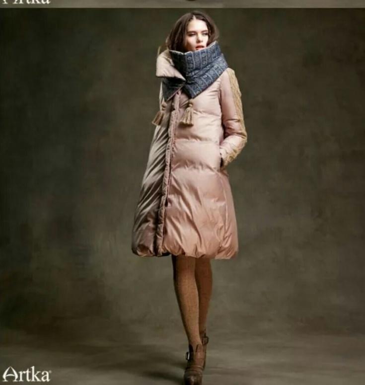Шарф с курткой от ARTKA