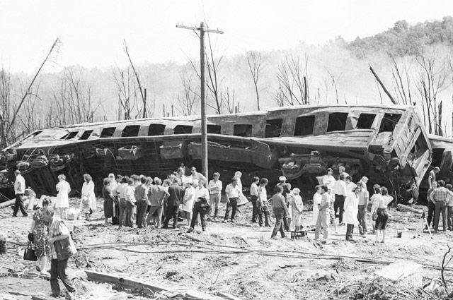 Люди в огне испарялись.   История фотографий с катастрофы