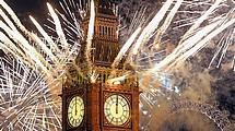 Посетите лучшие фейерверки Лондона