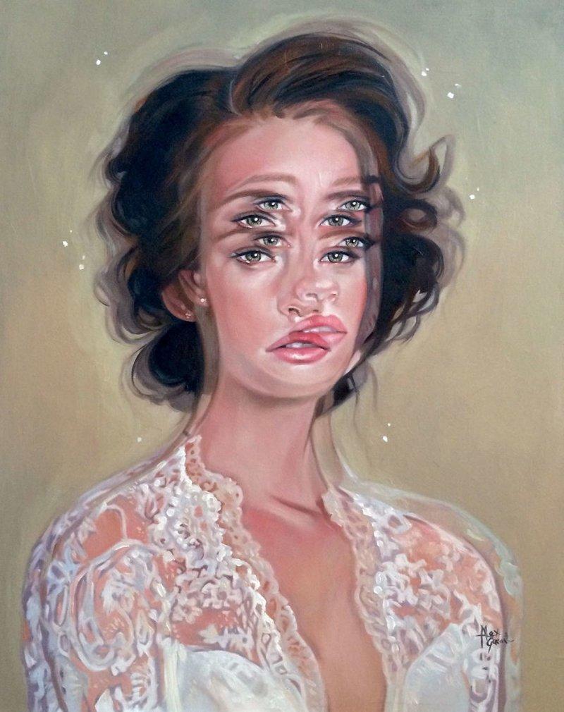 """После сердечного приступа художница начала рисовать """"головокружительные"""" портреты"""