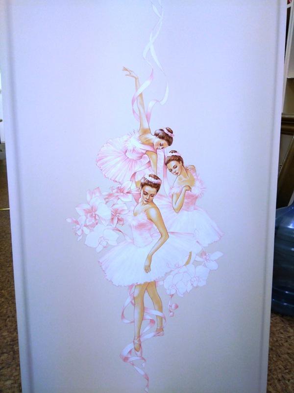 детская мебель девочке балерины